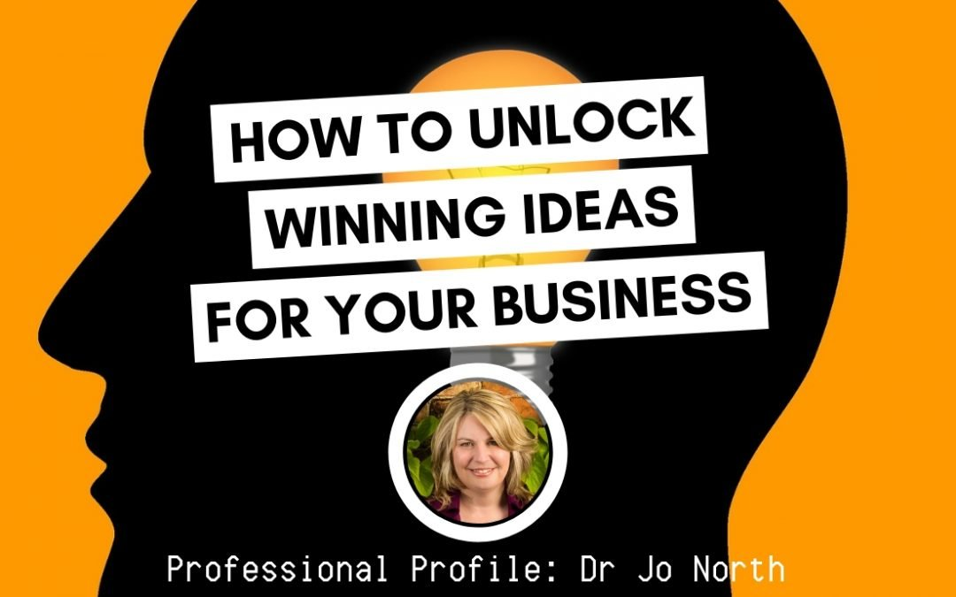 How to Unlock Winning Ideas For Your Business