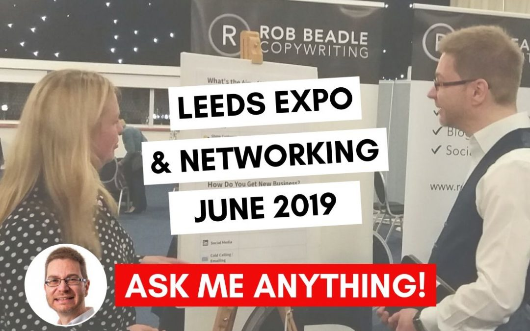 Leeds Expo and Networking Event June 2019