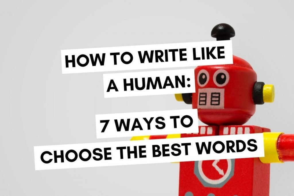 How to Write Like a Human