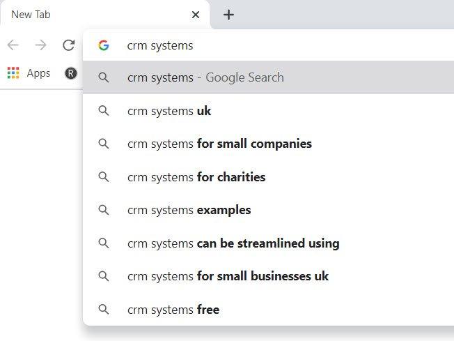 Google Autosuggest example