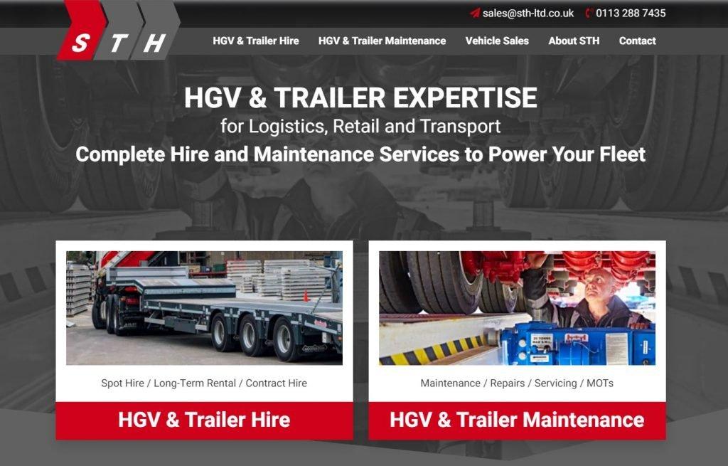 STH Website screenshot